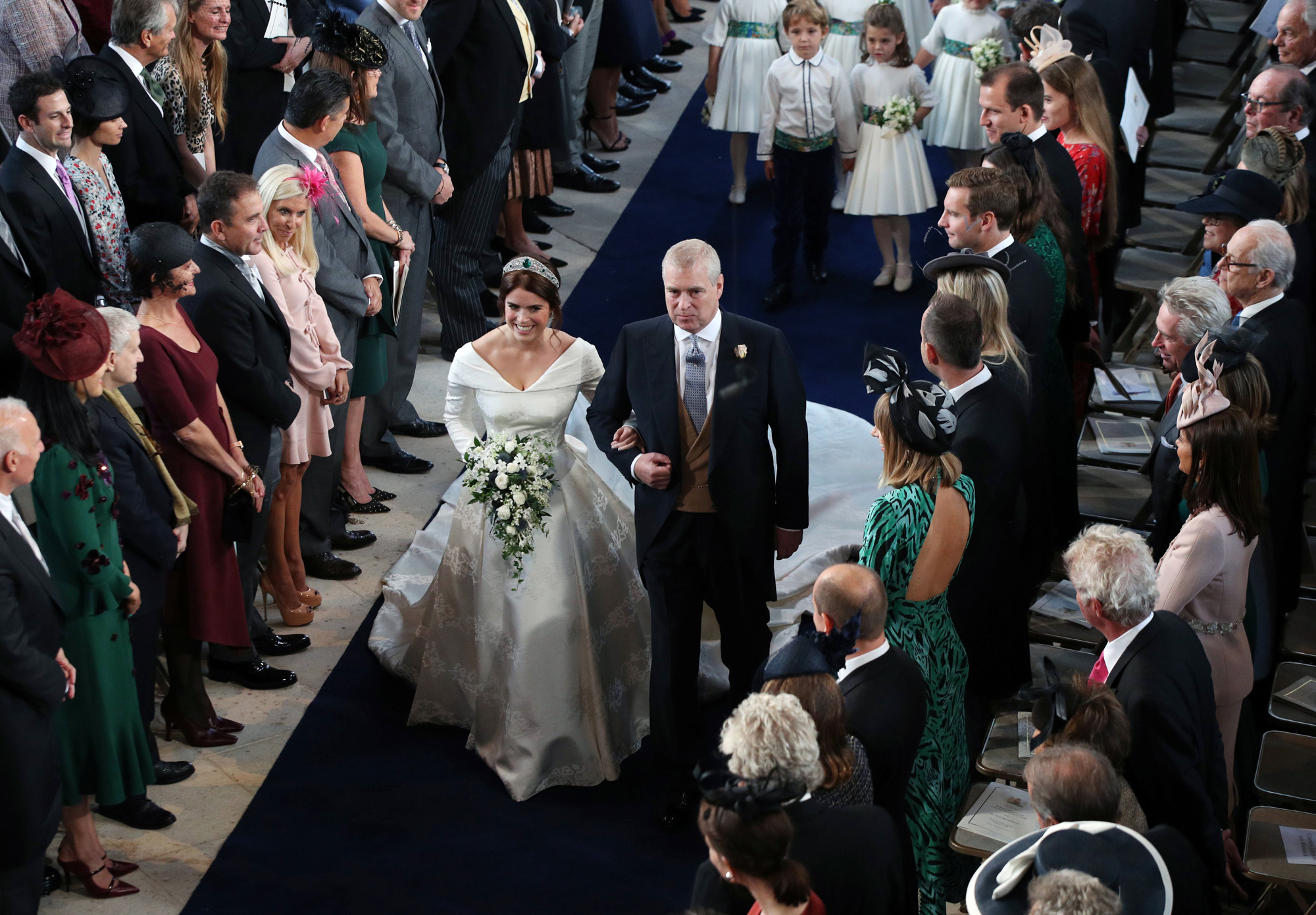 Prince George and Princess Charlotte Are Bridal Party Pros at Princess Eugenie's Wedding! princess-eugenie-8-2000