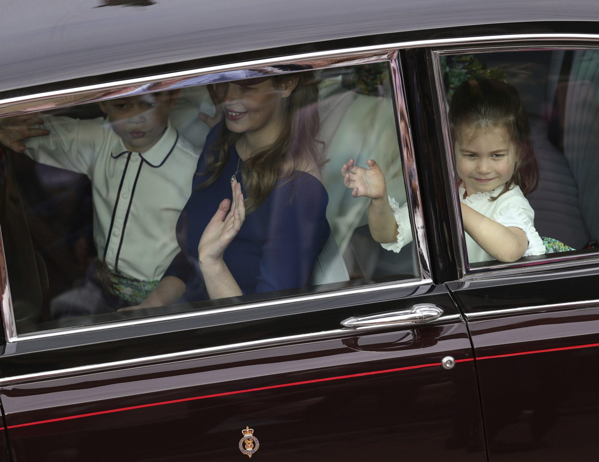Prince George and Princess Charlotte Are Bridal Party Pros at Princess Eugenie's Wedding! royal-children-1-2000