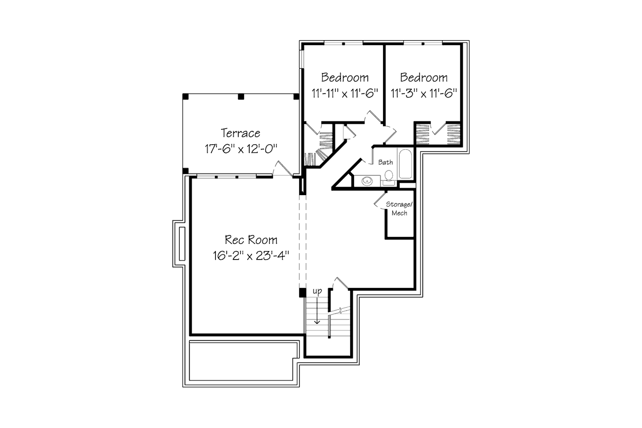 SL House Plan 1391 2nd Floor
