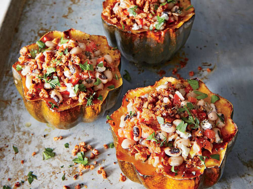 RX_1810_Vintage Thanksgiving Recipes_Stuffed Squash