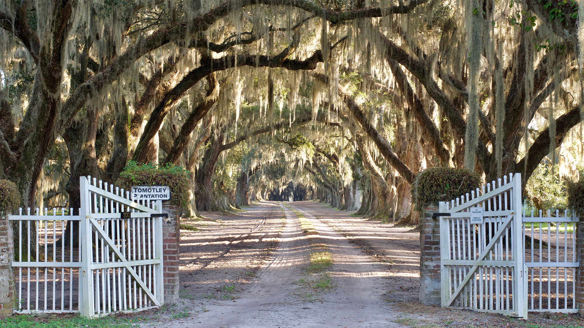 Tomotley Plantation Yemassee SC Gate