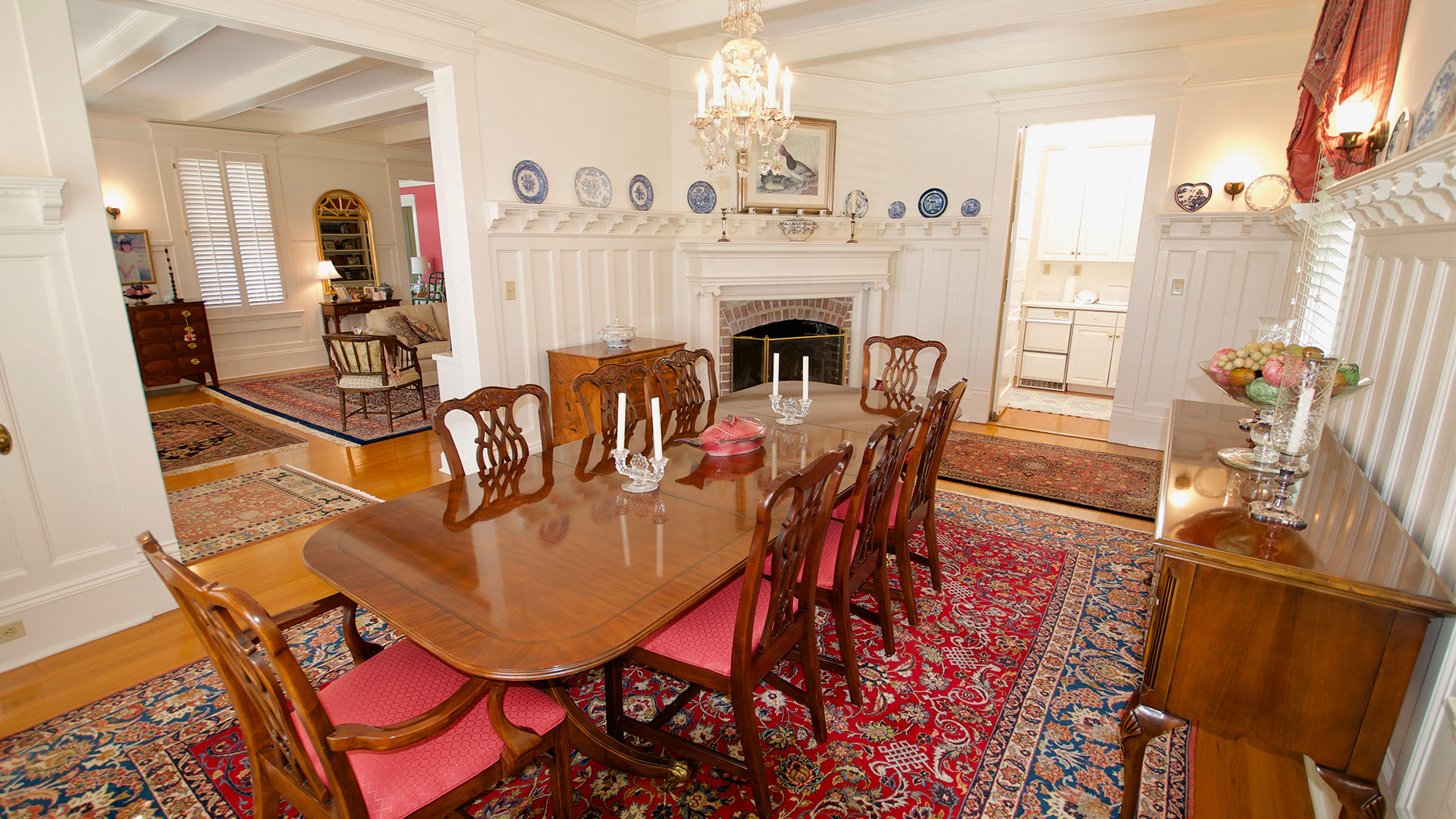 Tomotley Plantation Yemassee SC Dining Room