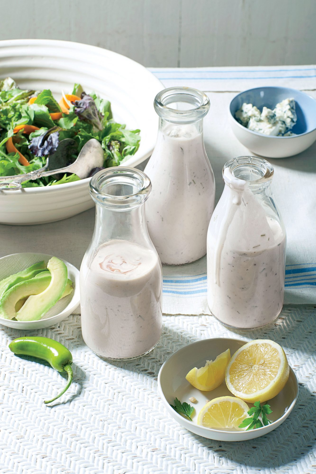 This Ranch Dressing Recipe Is the Only Spring Condiment You'll Need