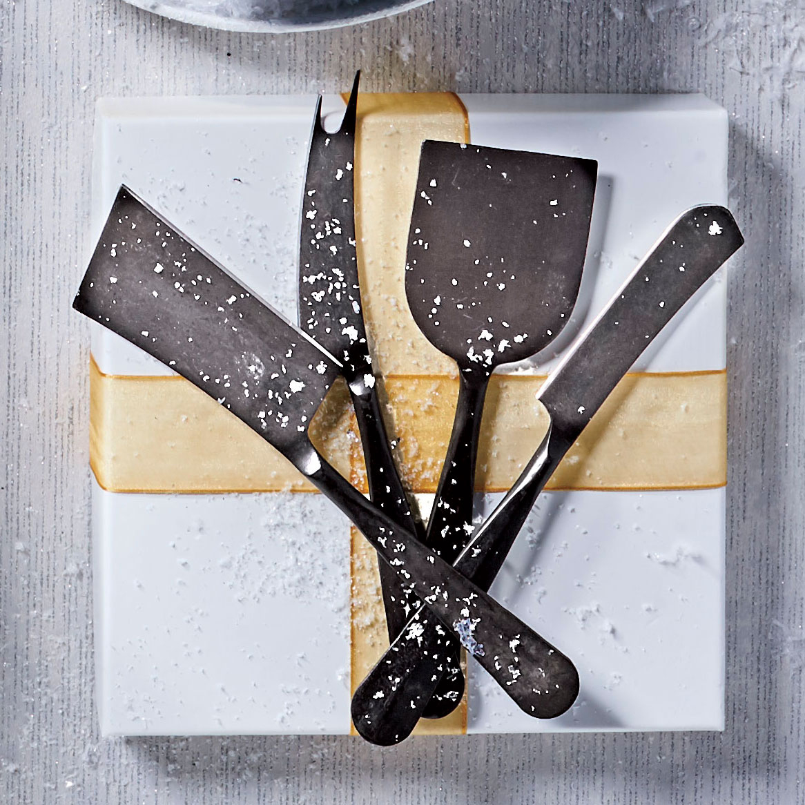 Slate Black Cheese Knives