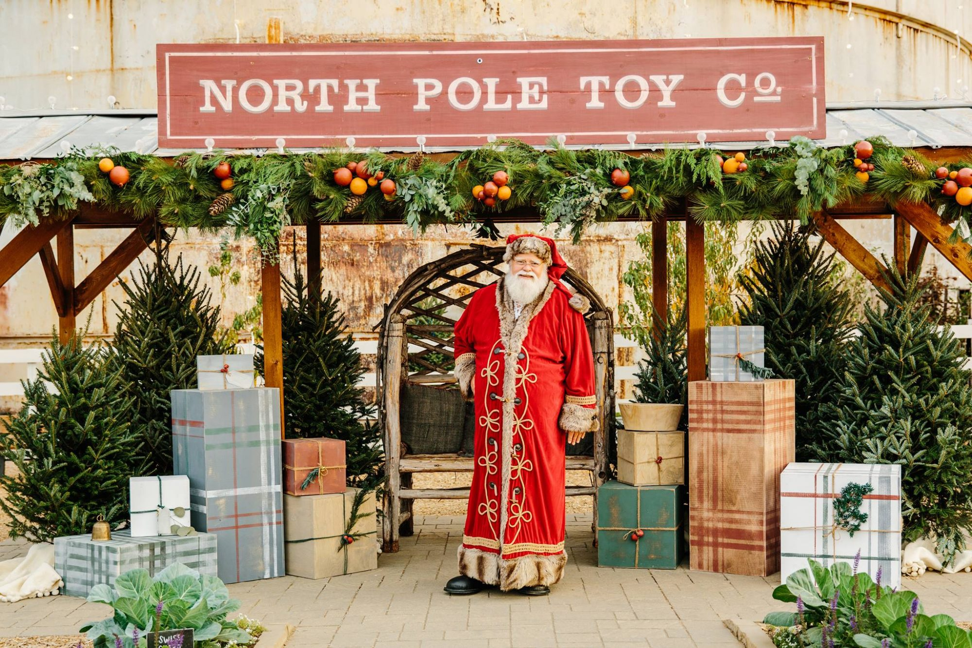 Santa at Magnolia Market