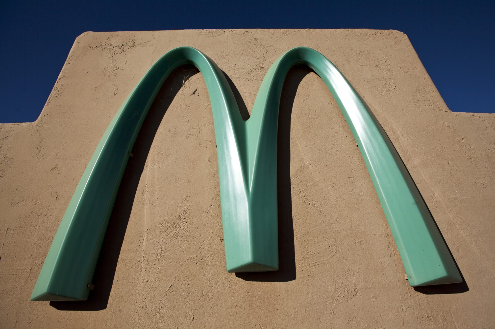 McDonald's Turquoise Arches