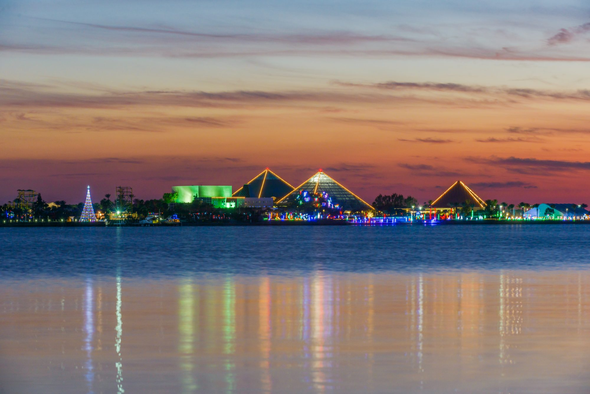 Holidays at Moody Gardens in Galveston, Texas