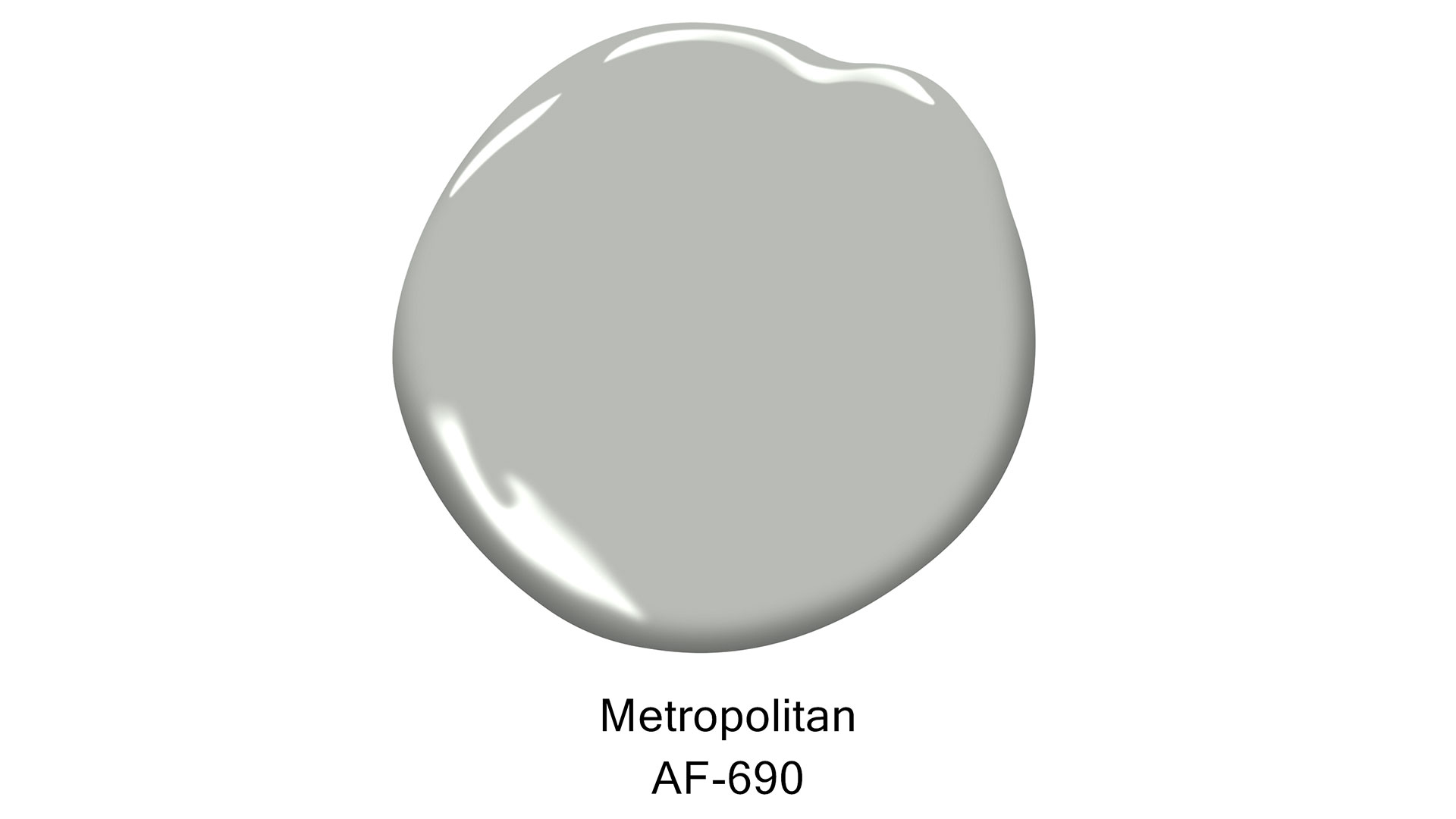 Benjamin Moore Color of the Year 2019 Metropolitan Dollop