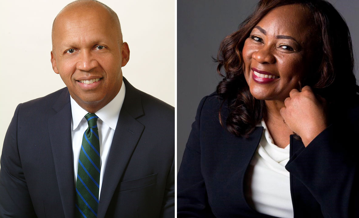 Bryan Stevenson and Catherine Coleman Flowers