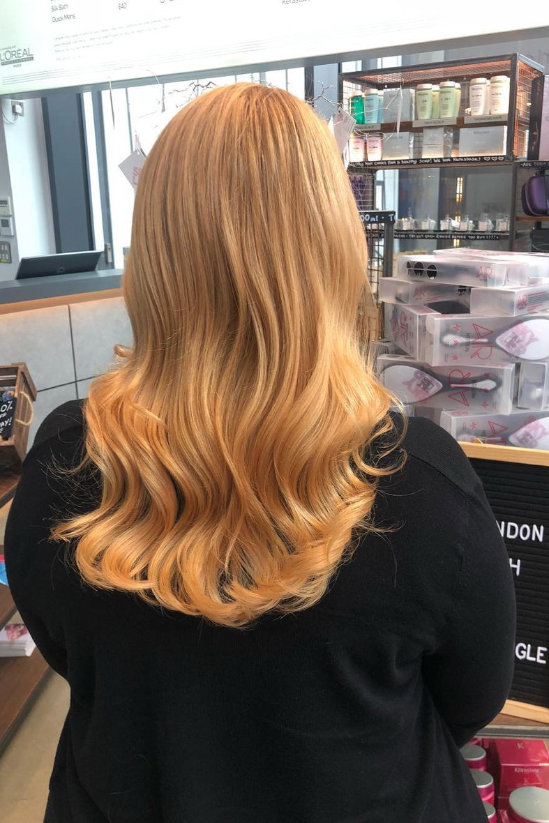 Copper and Blonde Blend