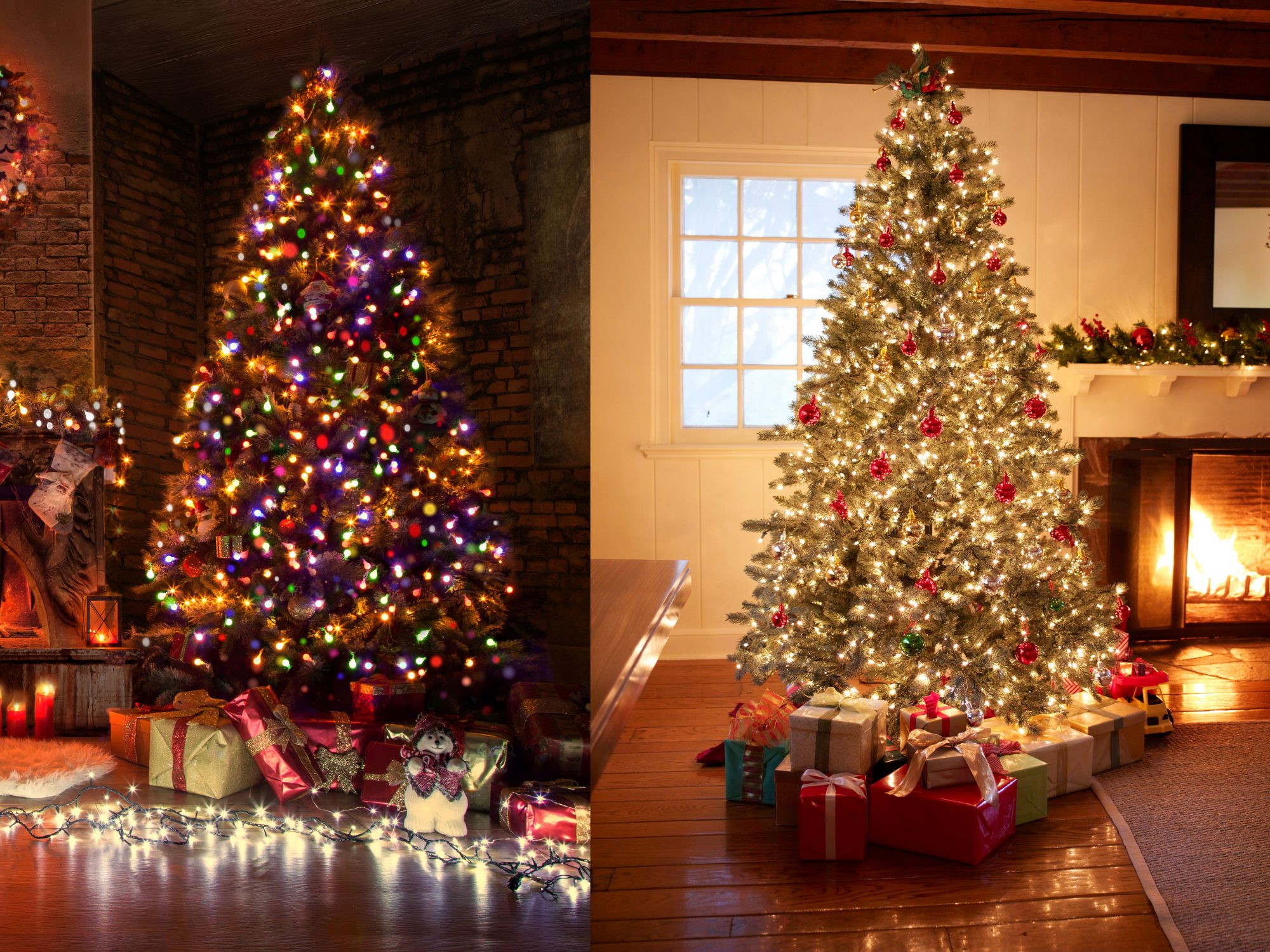 Do You Hang White Or Colored Christmas Lights?