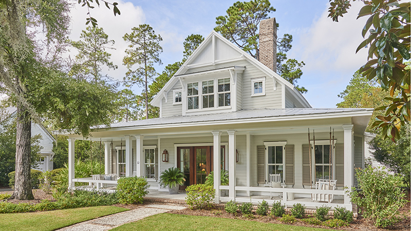 Lowcountry Farmhouse, Plan #2000
