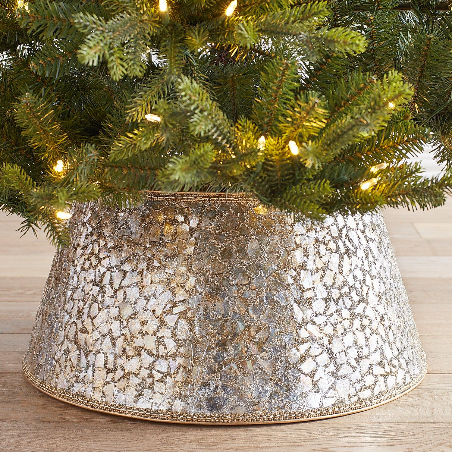 Ditch The Tree Skirt And Get A Tree Collar This Year