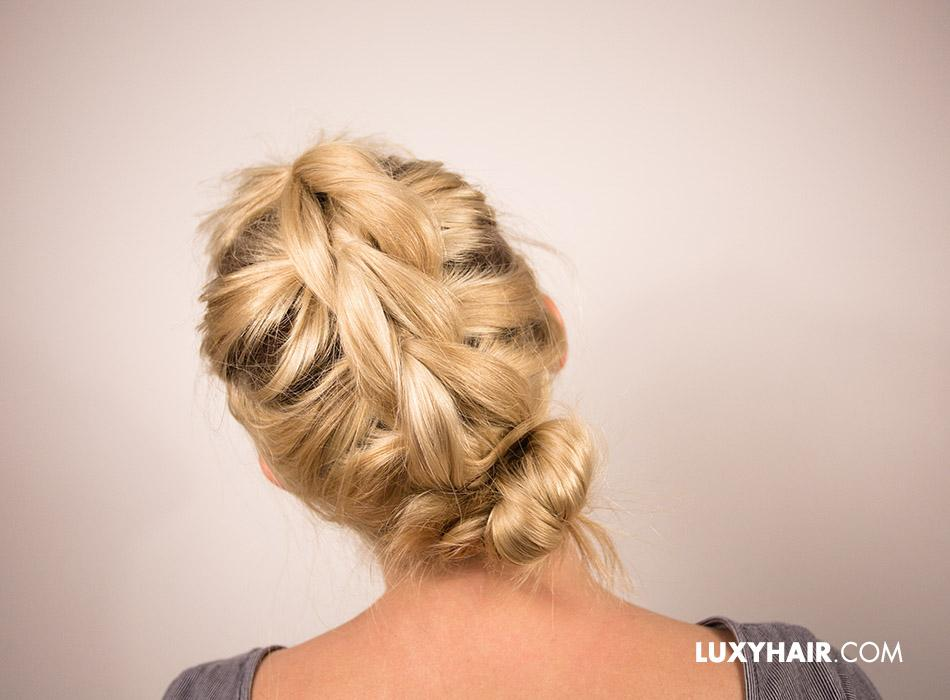 Pull-Through Braided Bun