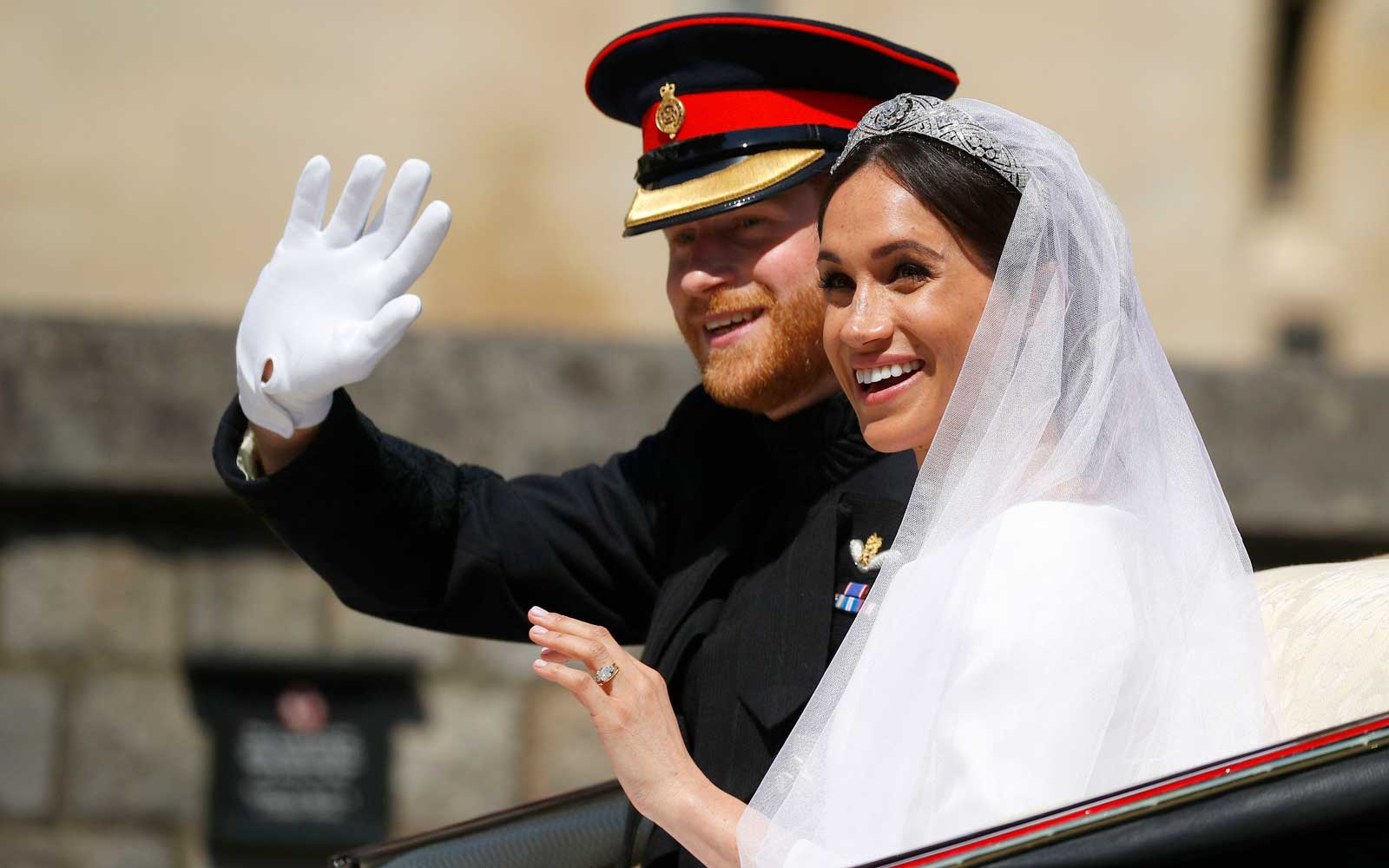 Prince Harry and Duchess Meghan Markle Wedding Day