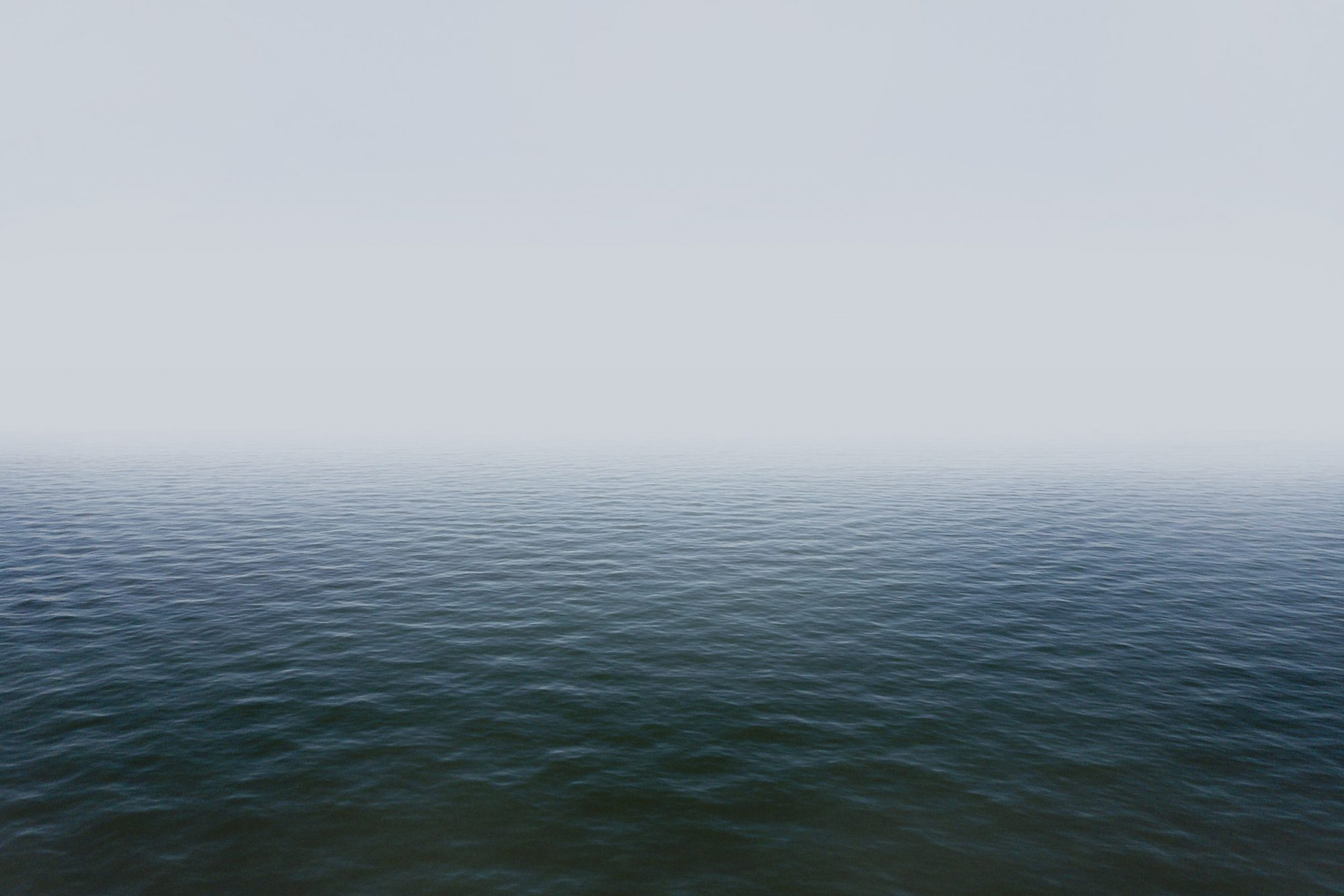 Misty magical waterfront