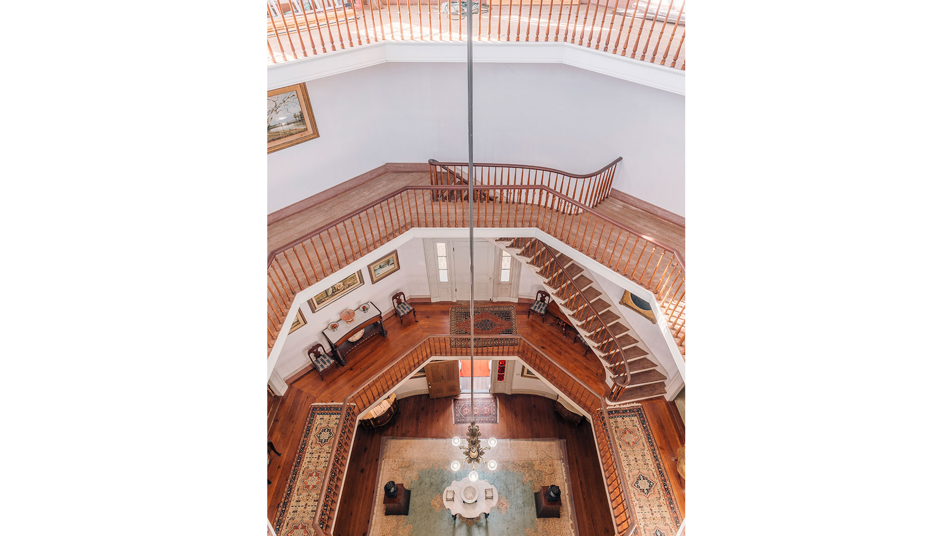 Waverley Mansion Mississippi Staircase Views