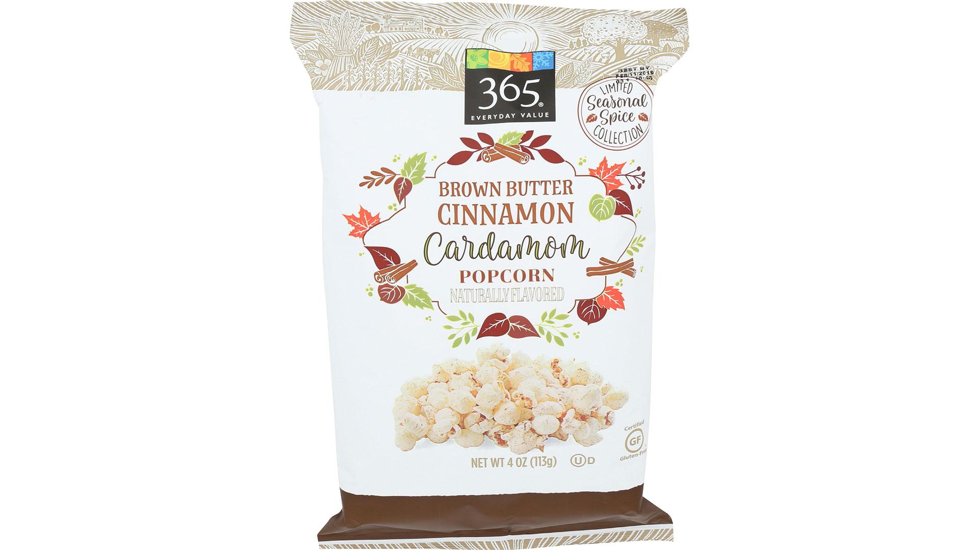 365 Everyday Value Brown Butter Cinnamon Popcorn with Cardamom
