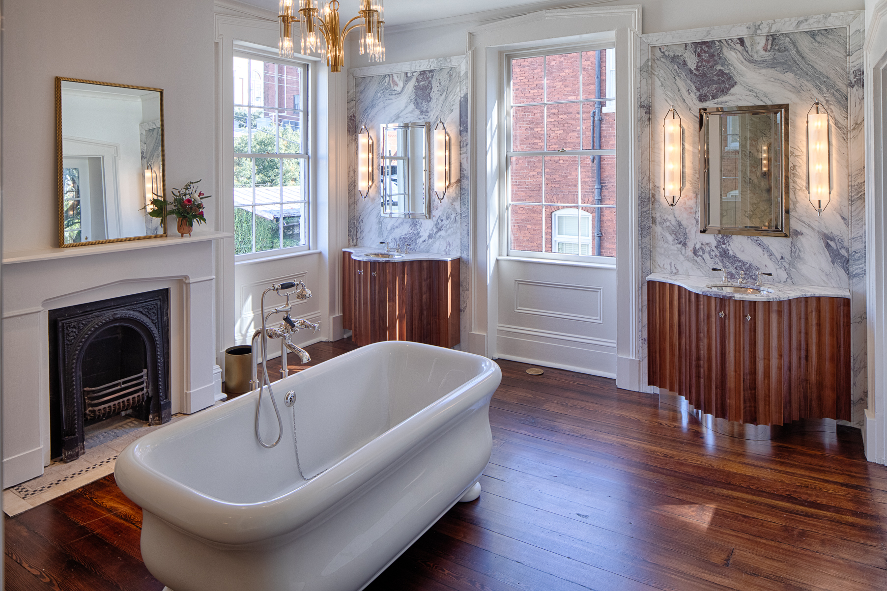 His and Hers Master Bathroom