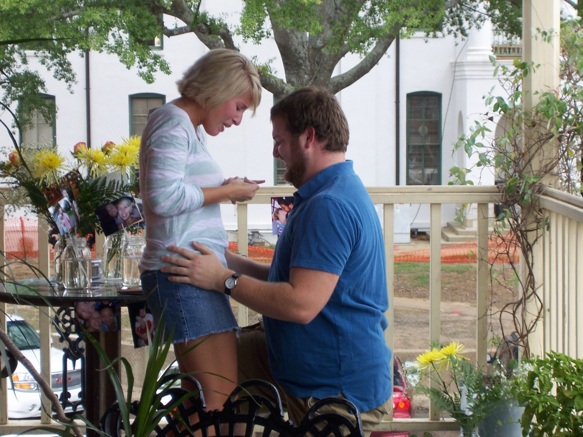 Erin and Ben Napier Proposal