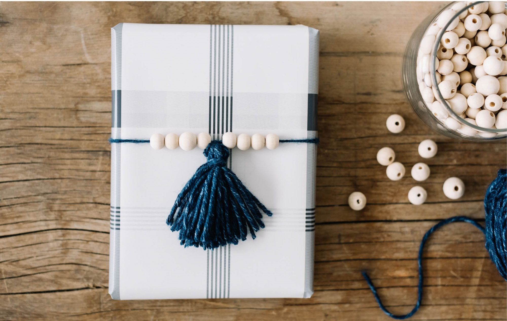 Joanna Gaines Shares How to Make Beautiful Tassel Gift Toppers