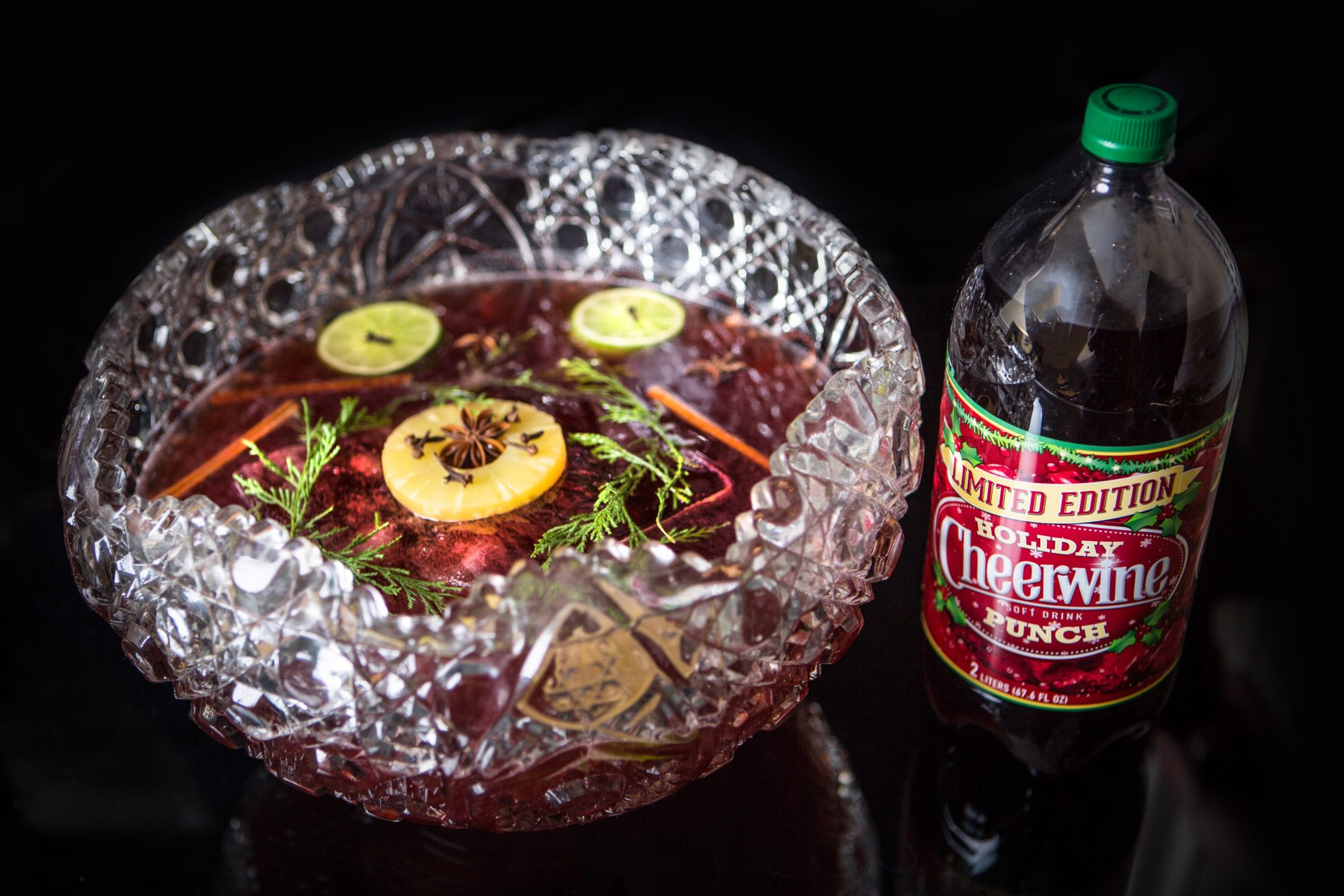 Cheerwine Holiday Punch Photo