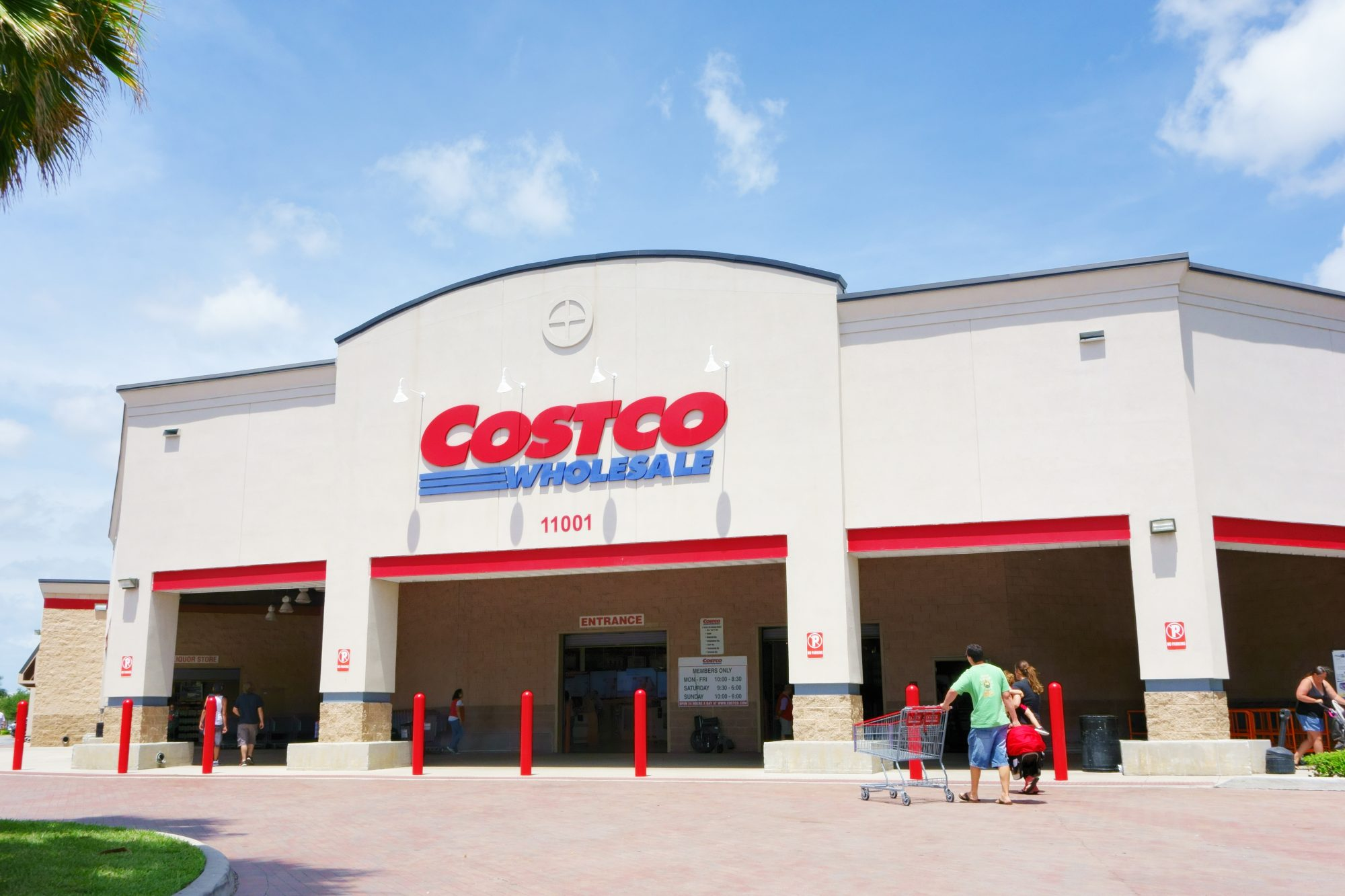 Costco Wholesale Exterior