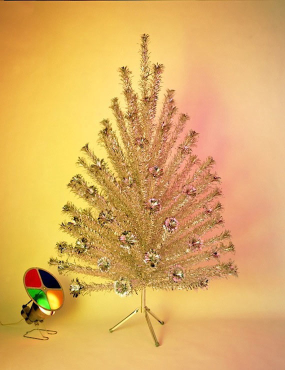 Aluminum Trees with Color Wheels