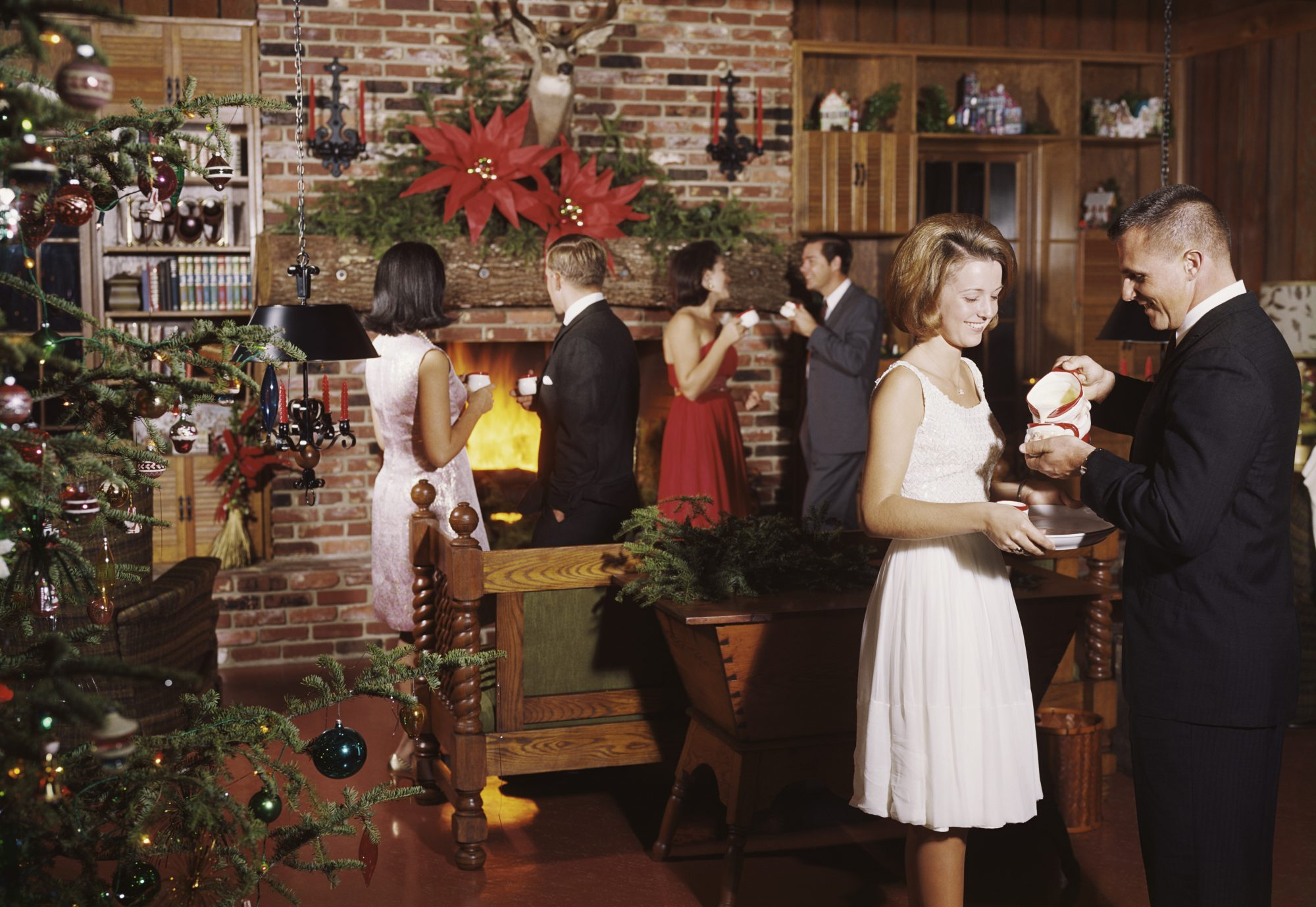 1960s Christmas Party