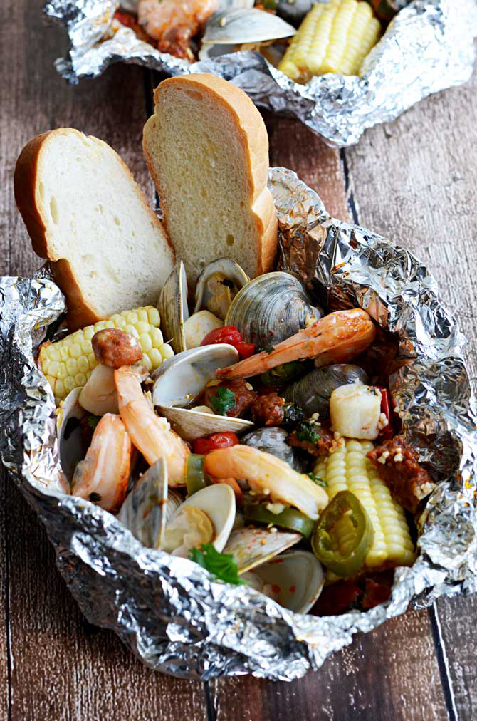 Shrimp Foil Packets That'll Have Dinner Ready in 30 Minutes