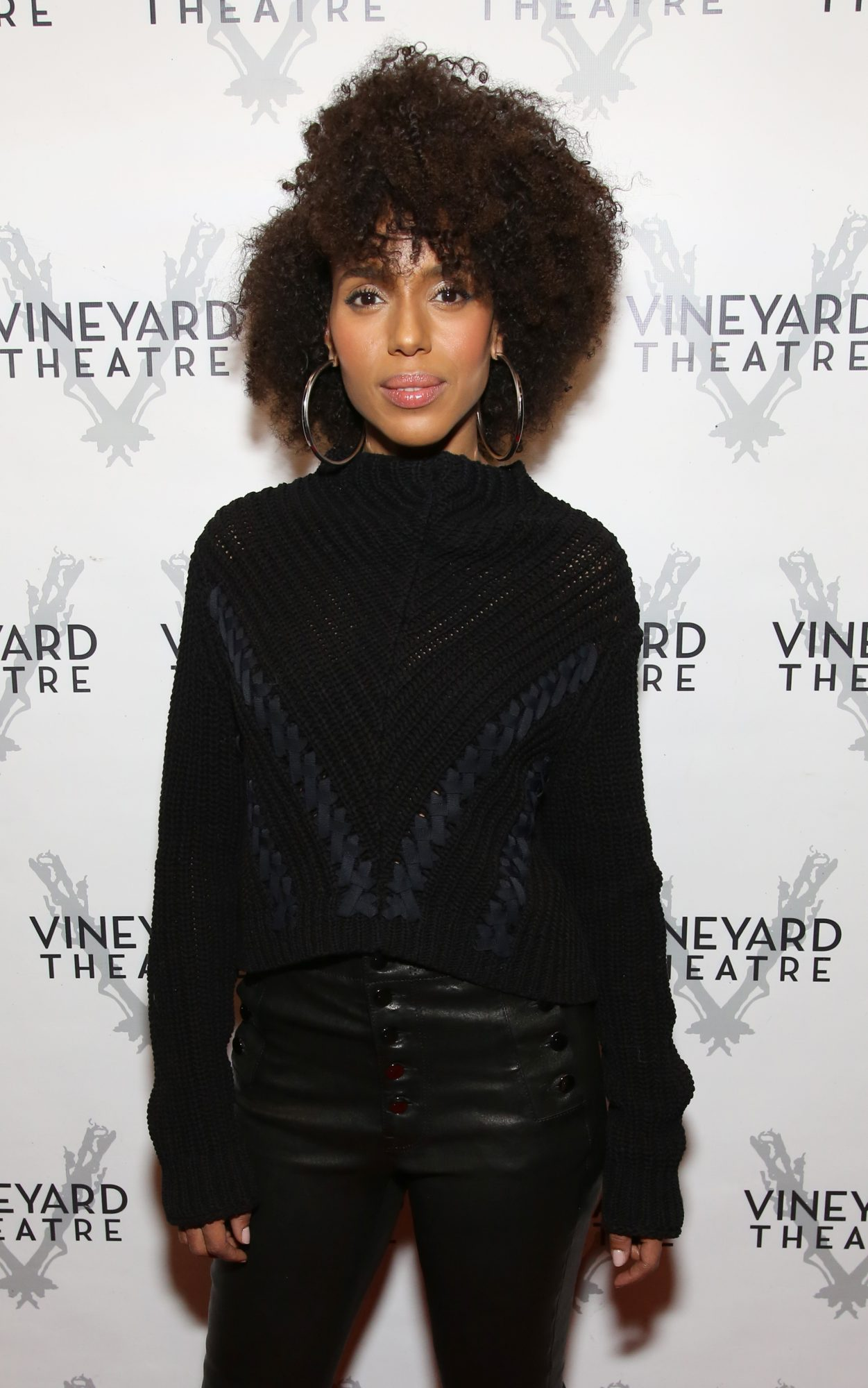 Kerry Washington's Major Side Part