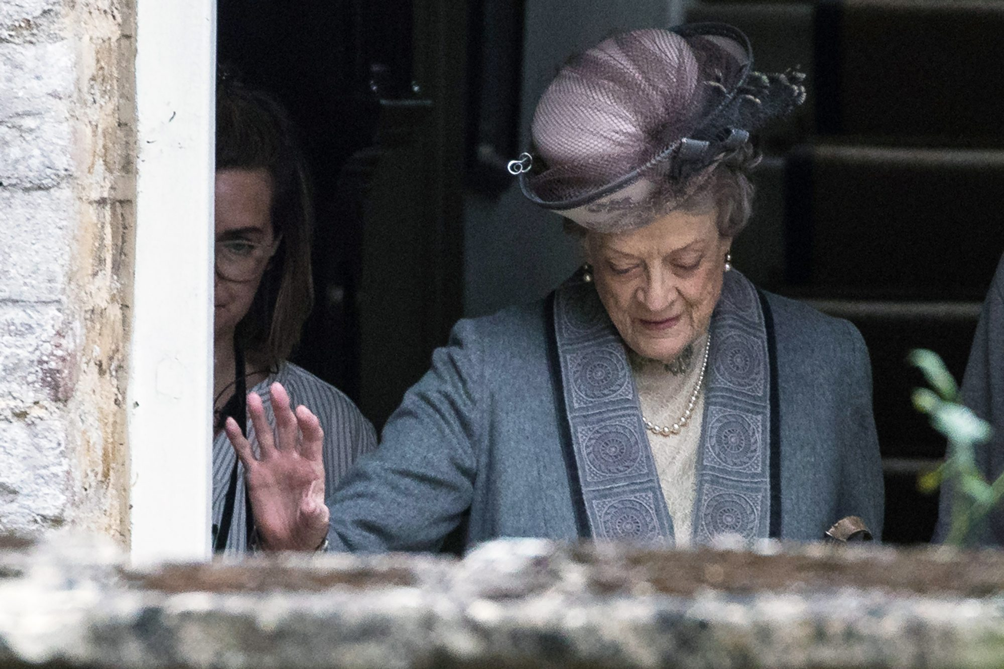 Downton Abbey Is Back! See Maggie Smith in Action in First Look at Movie Adaptation maggie-smith-1