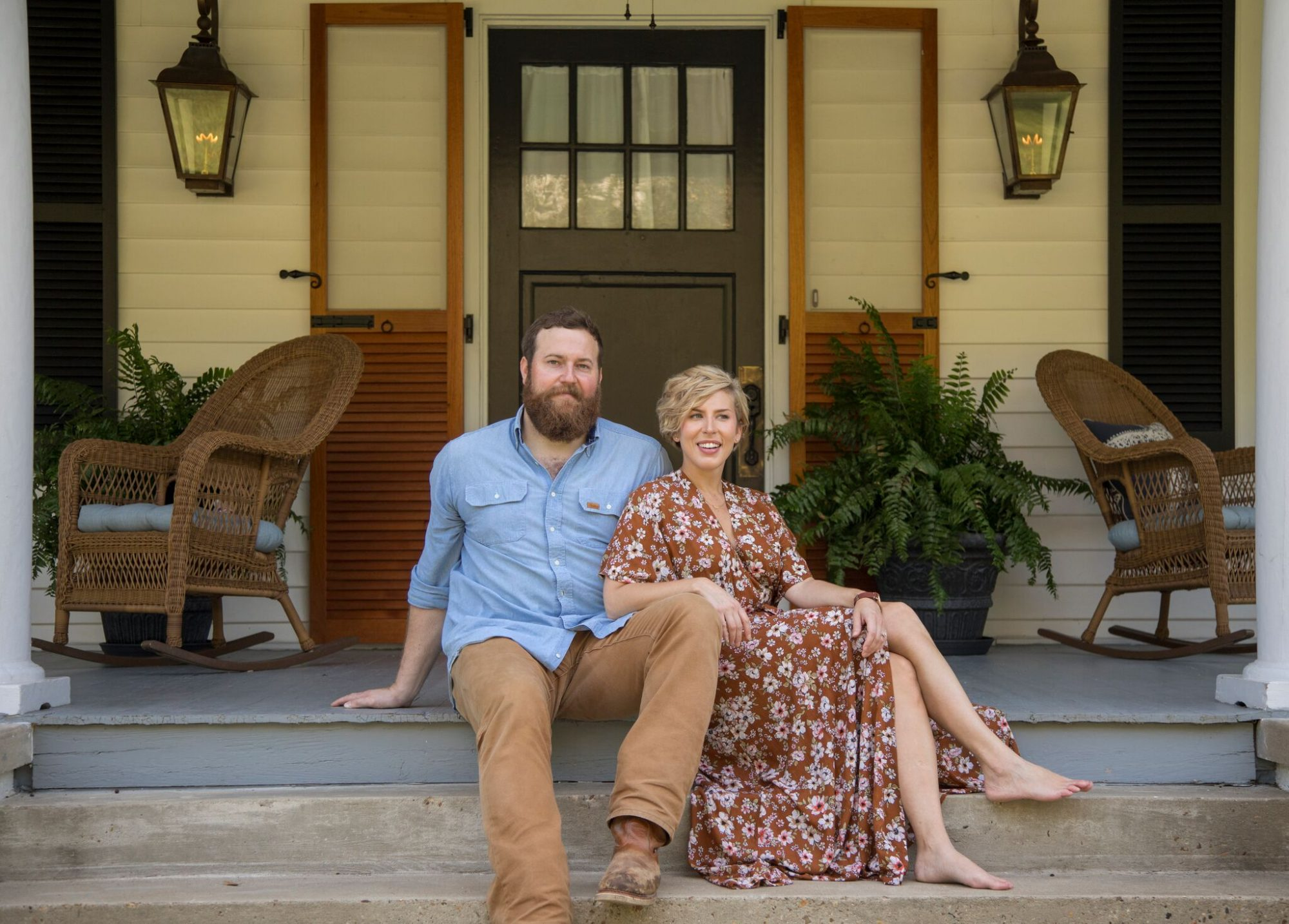 Erin and Ben Napier Porch