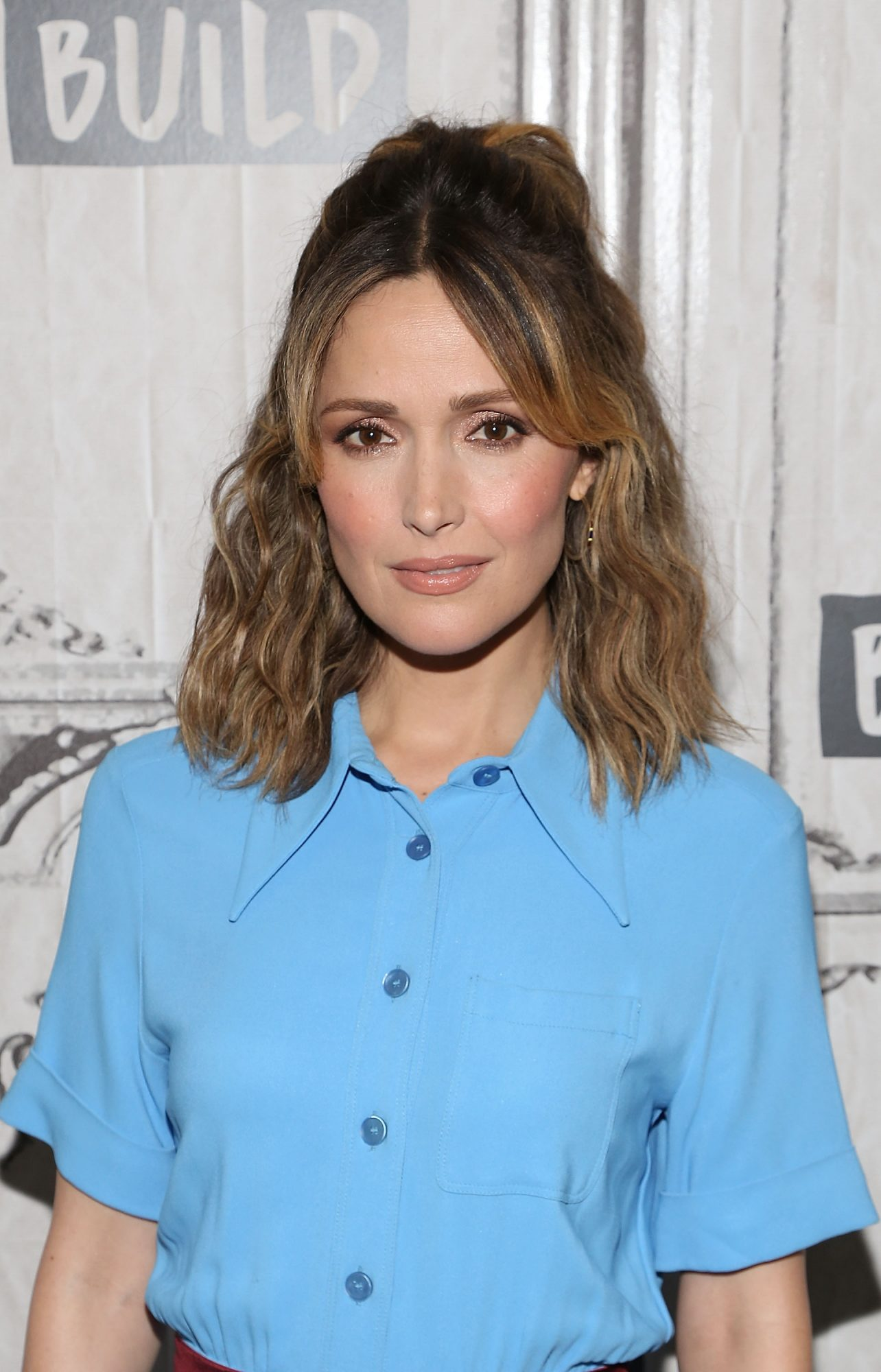 Rose Byrne's Curtain Bangs