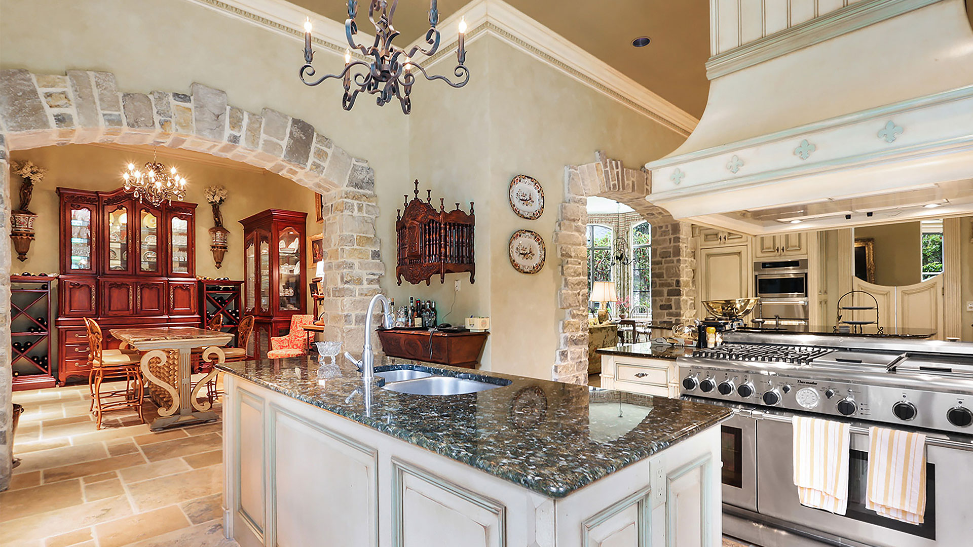 Colleton River Club French Chateau Kitchen