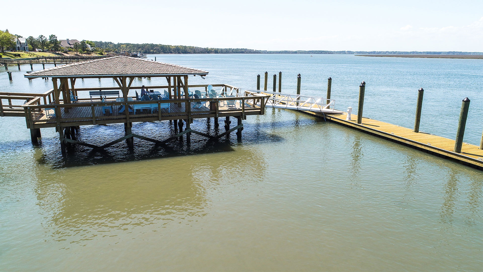 Colleton River Club French Chateau Dock