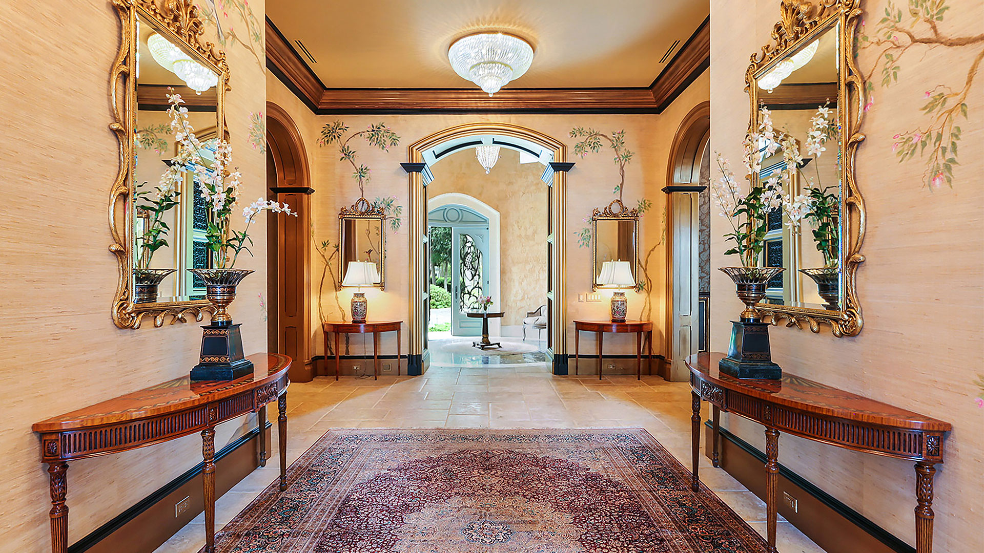 Colleton River Club French Chateau Entryway