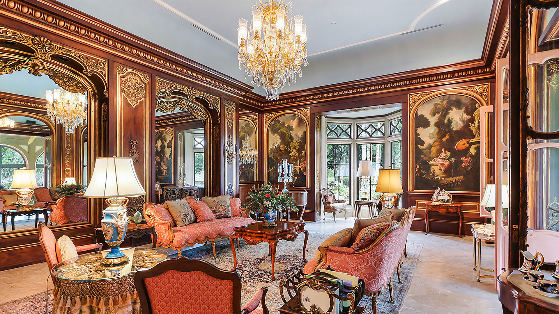 Colleton River Club French Chateau Music Room