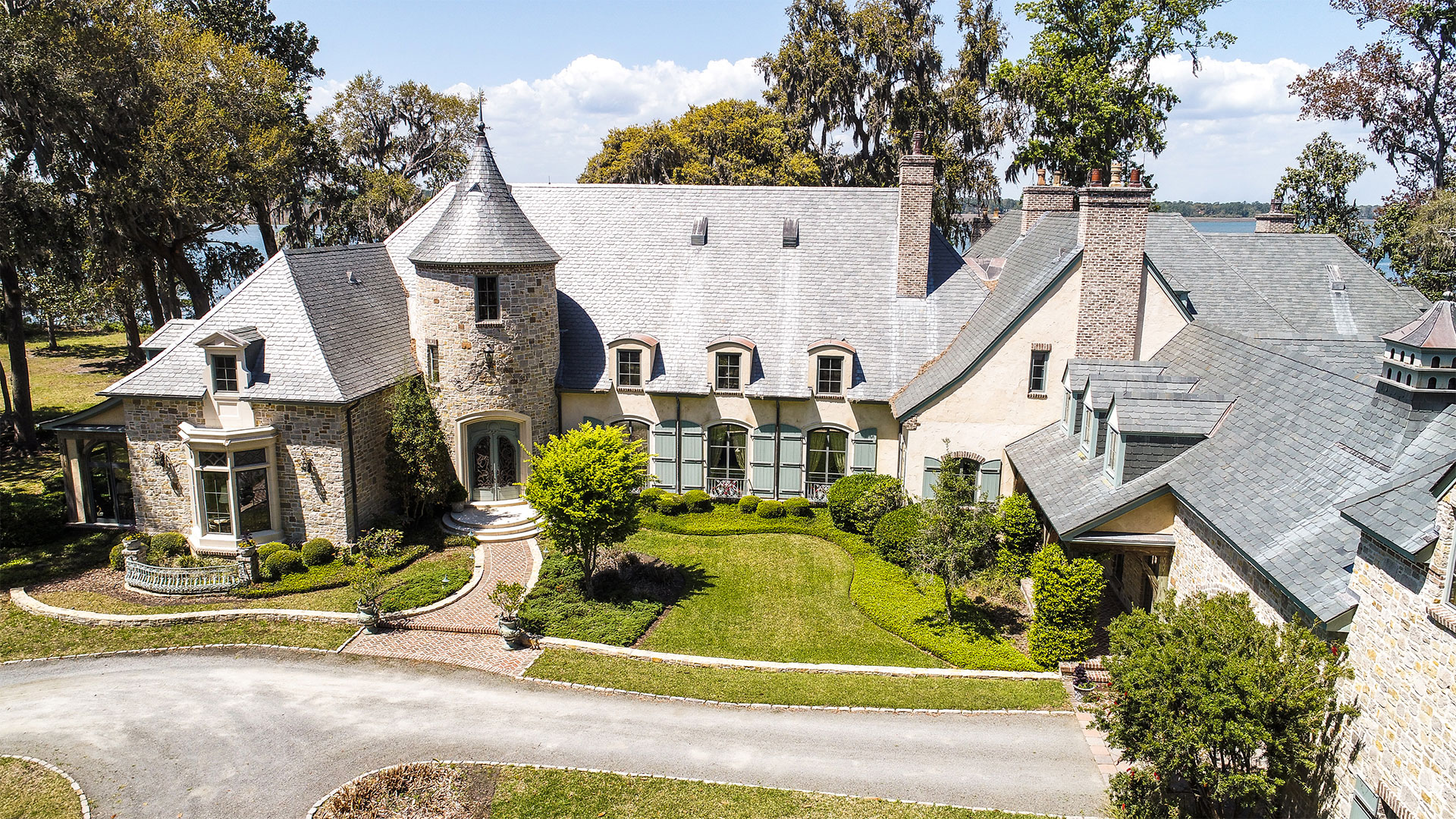 French-Style Chateau