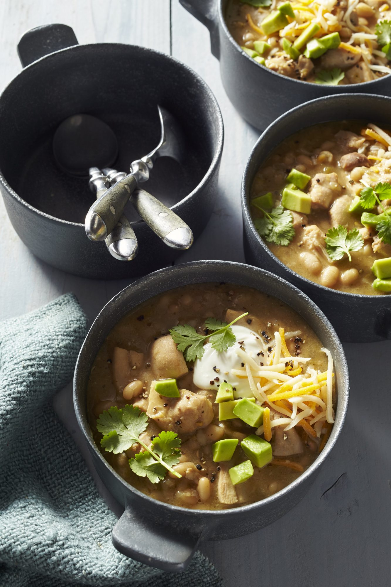 White Chicken Chili Slow Cooker Recipe Food Network