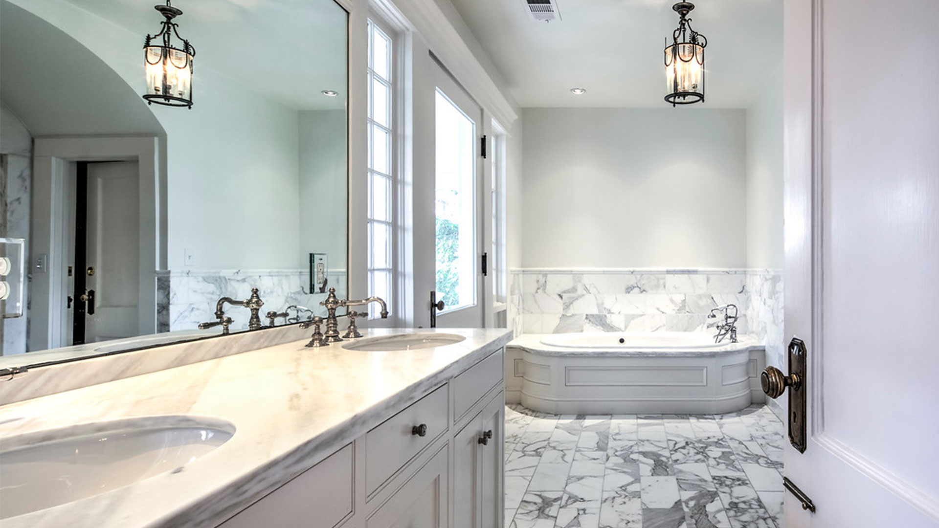 Spotswood Hall Atlanta Master Bathroom