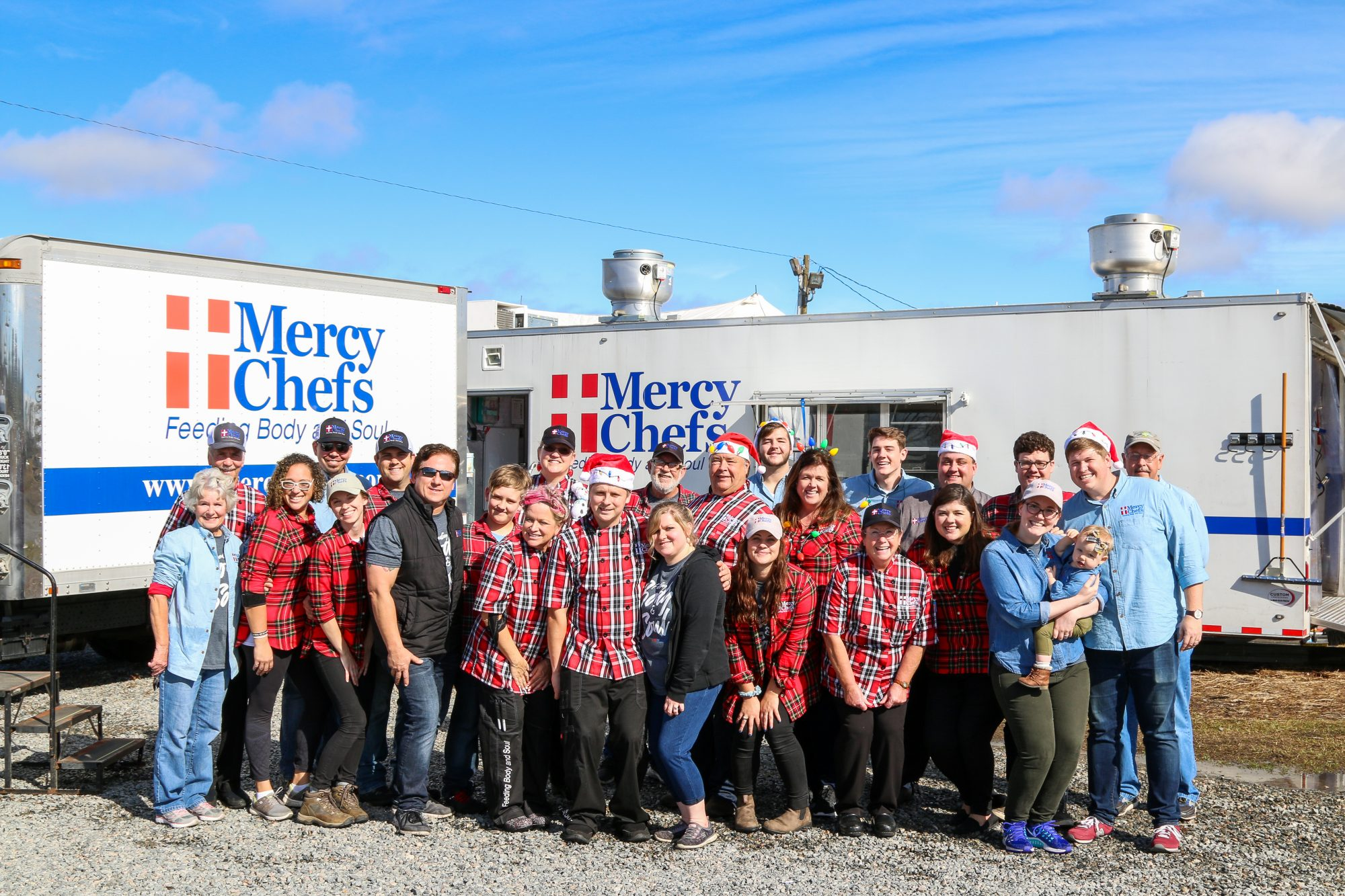 Mercy Chefs Thanksgiving Meal Team Photo