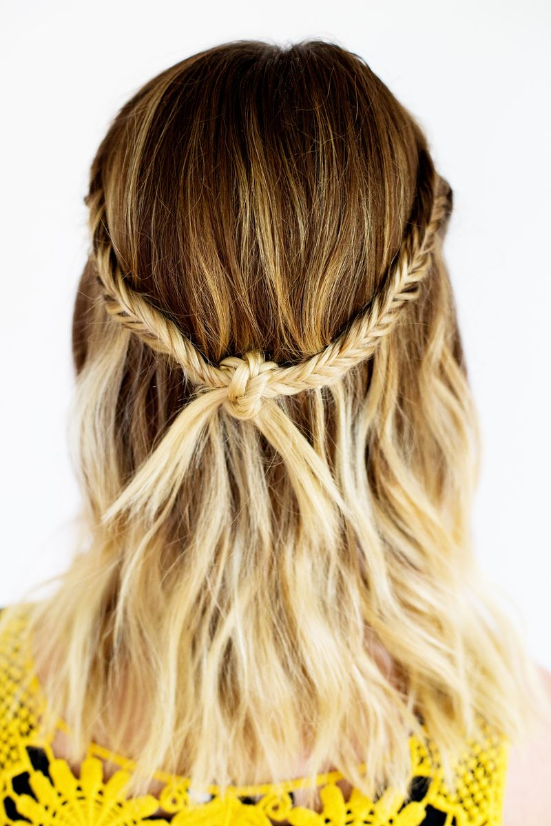 The Fishtail Knot Braid