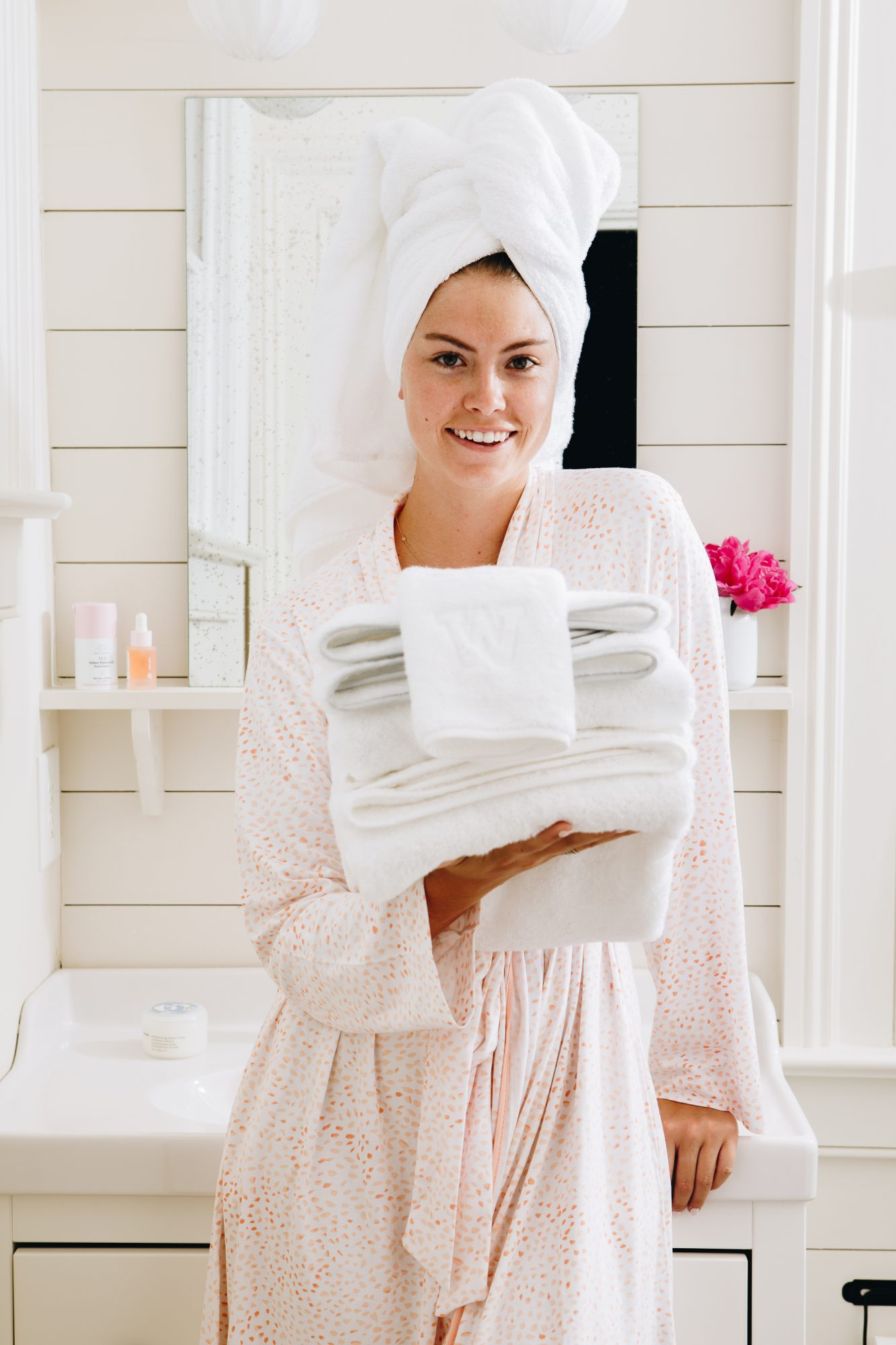 Weezie Stacked Towels