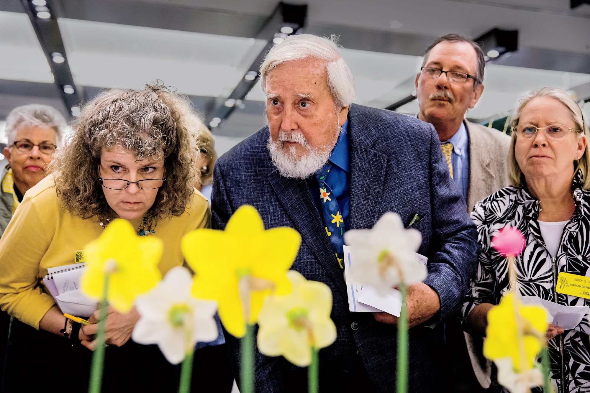 The Garden Club of Virginia Daffodil Show Judges