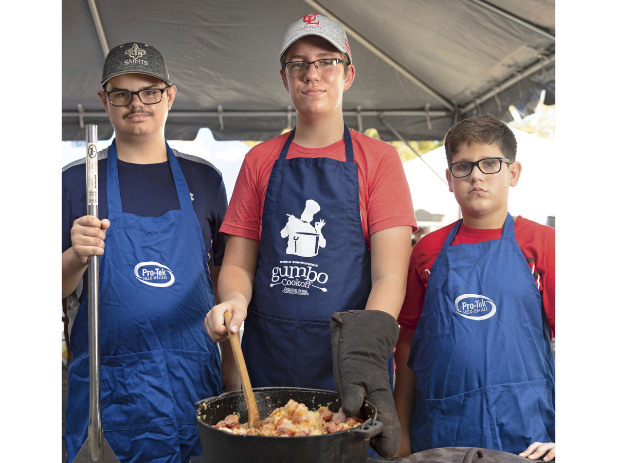 Youth Gumbo Cookoff in New Iberia, LA