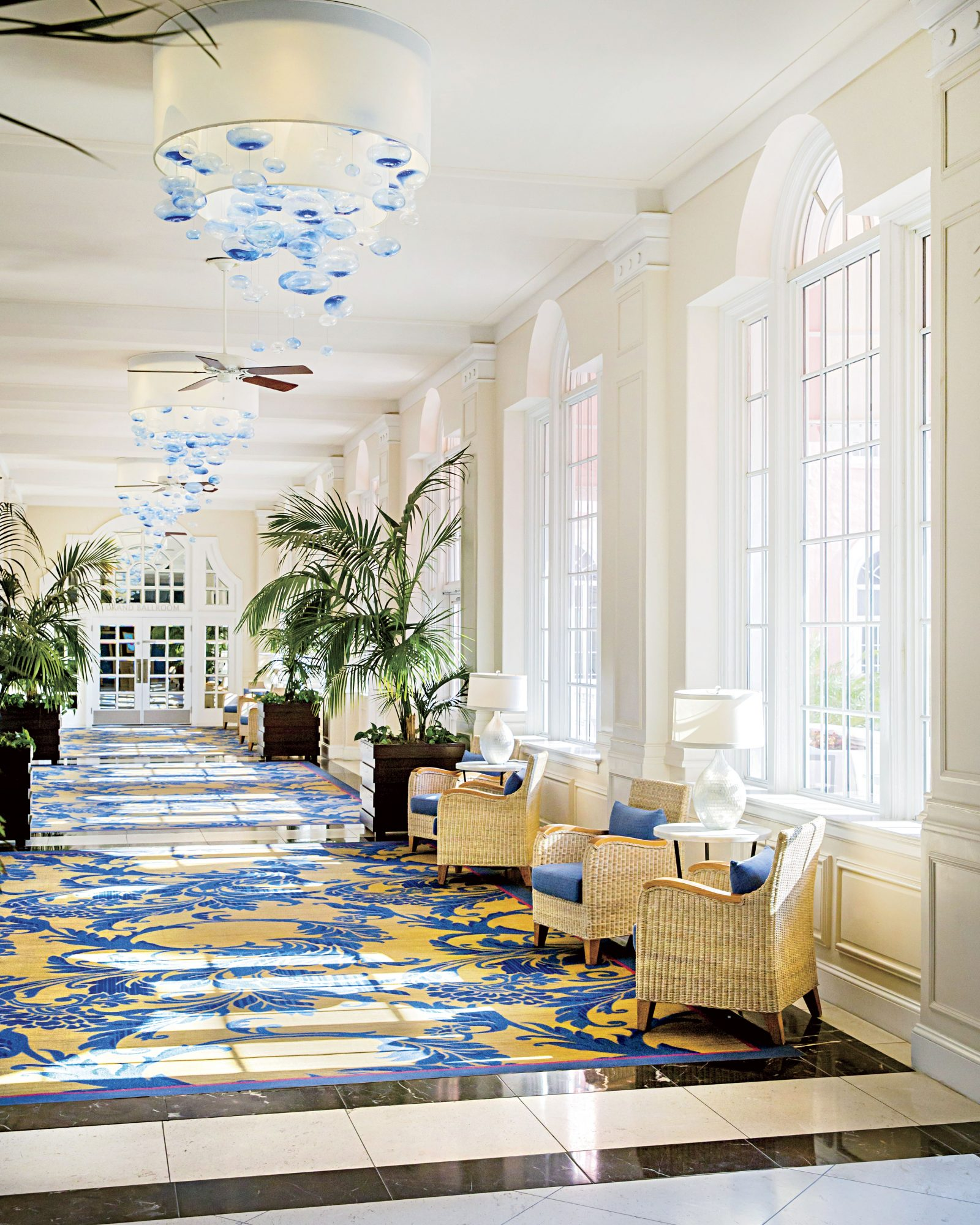 Don CeSar Hotel Lobby in St. Petersburg, FL