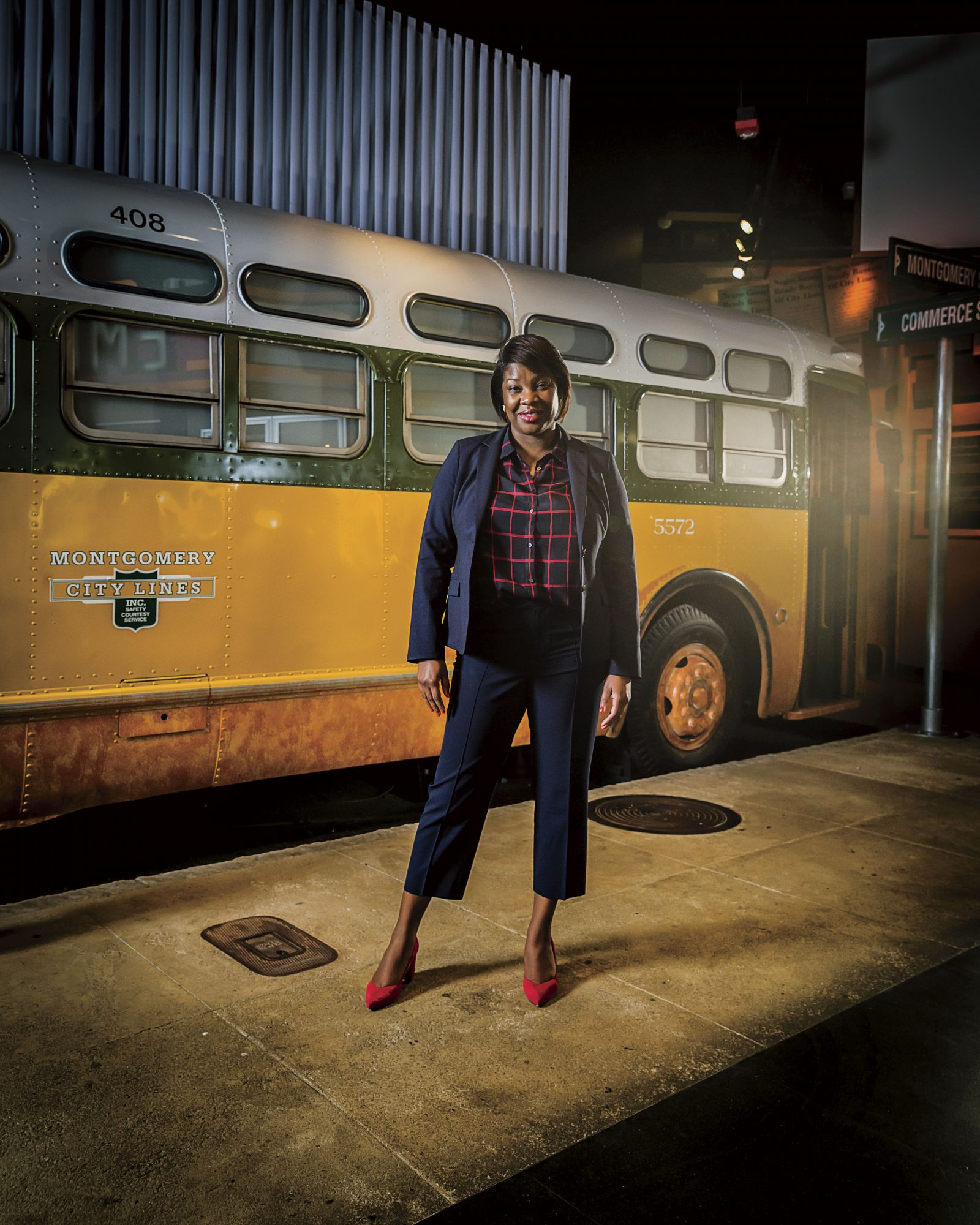 Dr. Felicia Bell, Director of the Rosa Parks Museum
