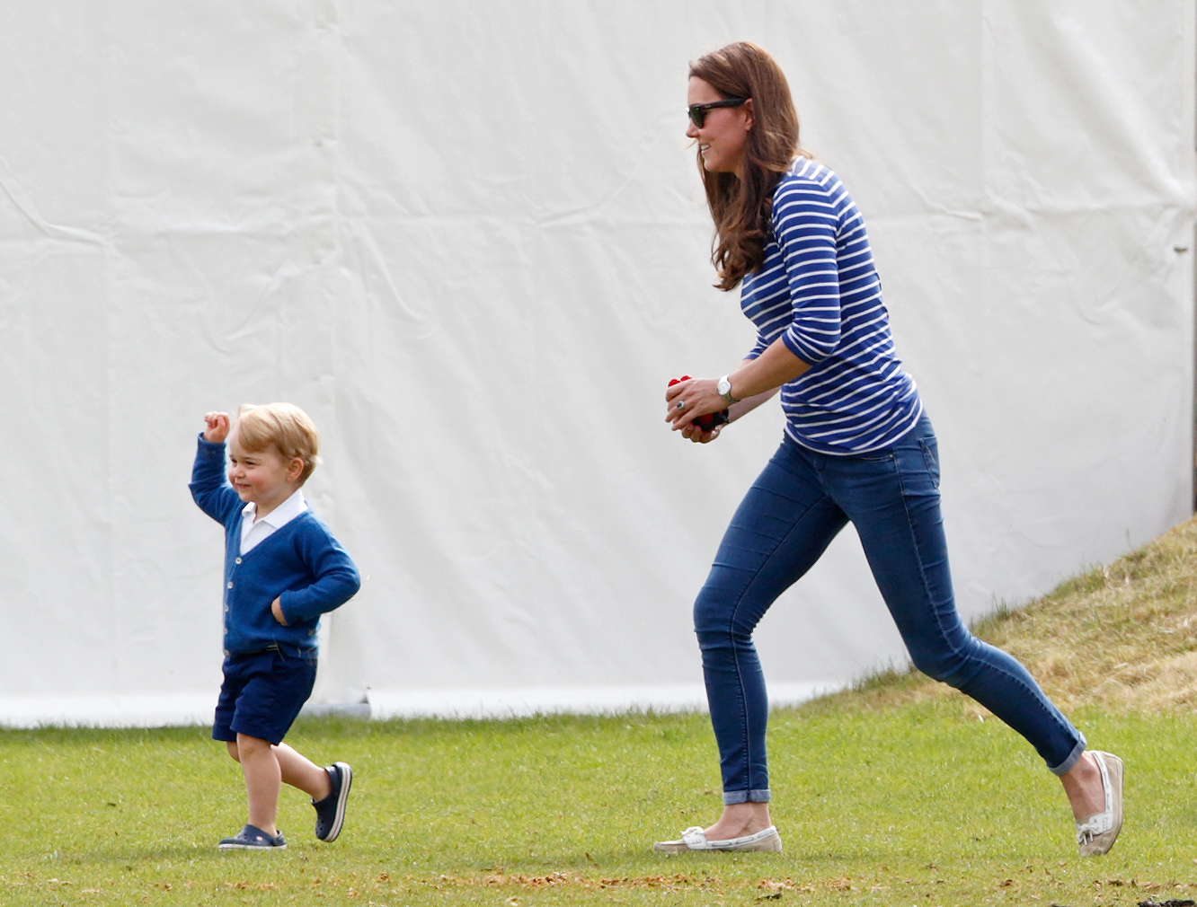Kate Middleton Mom Moments George Running