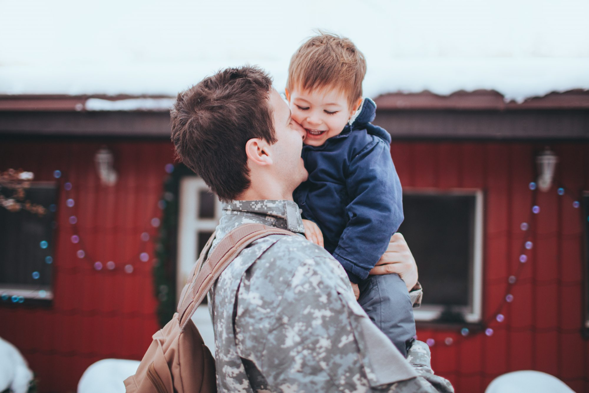 Army Father and Son